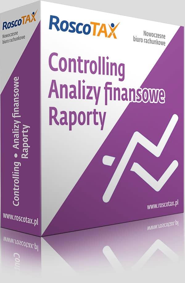 Controlling, analizy finansowe, raporty wykonywane przezbiura rachunkowe Rosco Tax